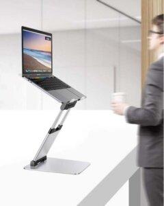 Soporte vertical para escritorio de aluminio STAN